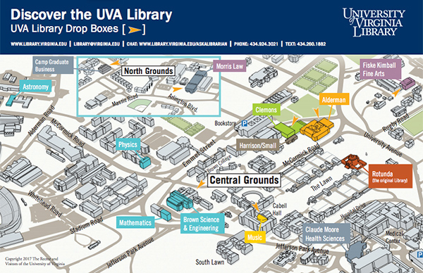 Uva Campus Map Directions and Maps